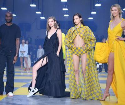 Karlie Kloss, Gigi and Bella Hadid steal Off-White show at Paris Fashion Week