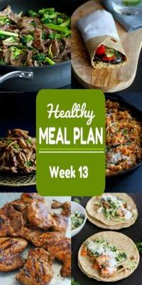 Healthy Meal Meal {Week 13}