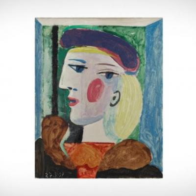 Painting of Picasso's Lover to Be Sold After 40 Years Out of The Limelight