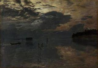 Isaac Levitan, Twilight on the Water