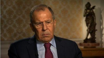 Russia foreign minister denies talking to Trump about Comey