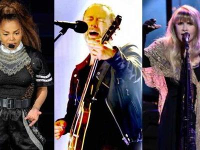 'Together Again': Janet Jackson, Def Leppard, Nicks join Rock Hall of Fame