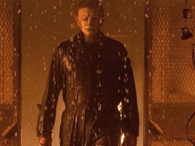 Michael Myers Causes Panic in New Rain-Soaked Look at Halloween Kills