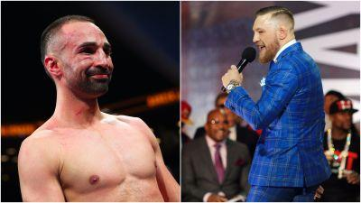 No push to be seen in Conor McGregor-Paulie Malignaggi video
