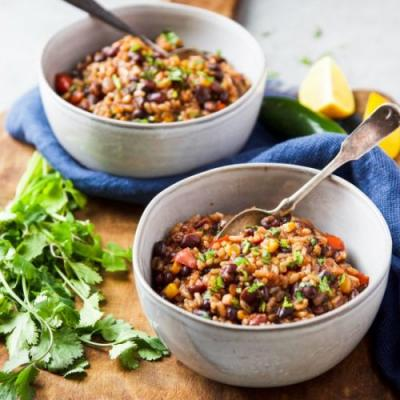 Instant Pot Mexican Rice and Beans