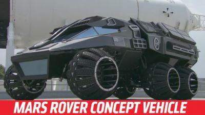 NASA's Mars Rover Concept Makes Absolutely No Sense