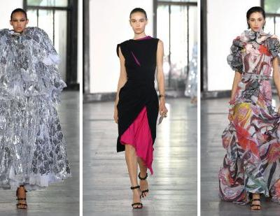 Maticevski returns to the catwalk for Paris Couture Week