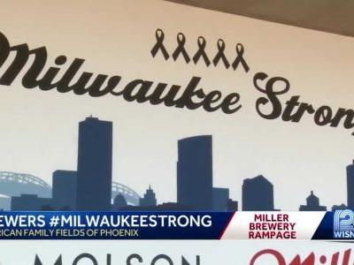 Mass shooting on minds of Milwaukee Brewers at spring training