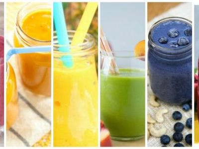 Favorite Color Fruit Smoothie Recipes