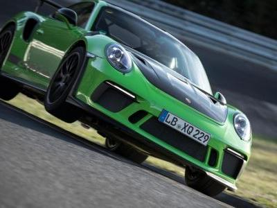 Watch The Updated Porsche 911 GT3 RS Smash Out A Sub-7min 'Ring Lap