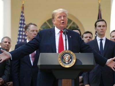 Trump Says New Trade Agreement To Replace NAFTA Is A Campaign Promise Kept