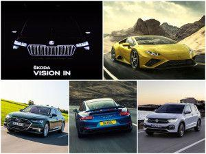 Skoda Auto Volkswagen India Media Night Vision IN Taigun Unveiled Audi A8L Launched Porsche 911 Cabriolet Showcased