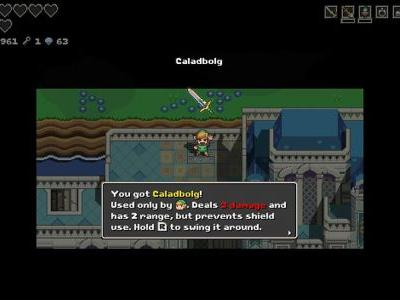 Where To Find Caladbolg - Best Sword In Cadence Hyrule