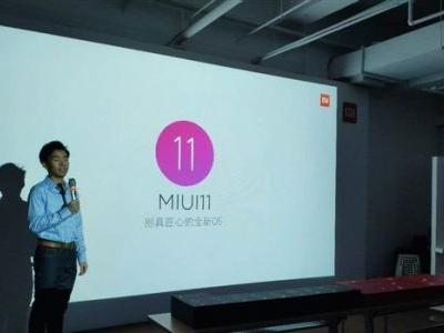 Xiaomi MIUI 11 first exposure: a new and unique OS on its way