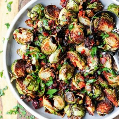 Balsamic Glazed Brussels Sprouts