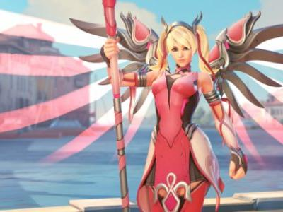 Pick Up a Pink Mercy Skin in Overwatch, and Help Combat Breast Cancer
