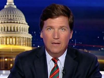Mob Gathers Outside Tucker Carlson's Home: 'We Know Where You Sleep at Night!'