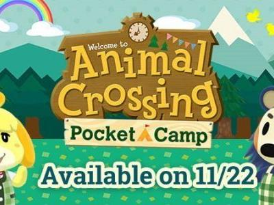 Nintendo's Animal Crossing: Pocket Camp Release Date Confirmed