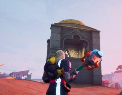 Fortnite: Chapter 2 Season 4 - Collect Floating Rings at Coral Castle