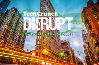 Disrupt is back in Manhattan this May