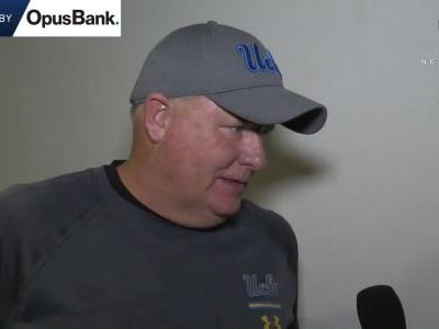 Chip Kelly reacts to UCLA's wild win in Pullman: 'They've got a lot of resolve'