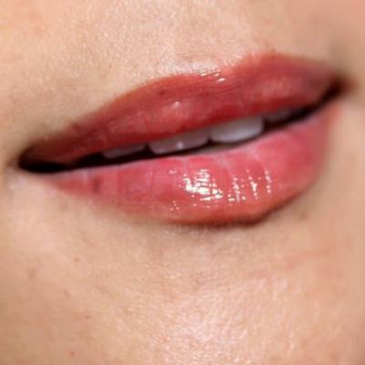 14 Days of Ravishing Red! - Day 9: Glossy, Sheer Cherry Red Lips With NARS Scandal