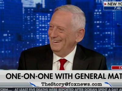 Jim Mattis says he won't be running for president in 2020 and that he's eager to see 'fresh ideas'