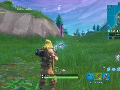 Fortnite Fortbyte 20 location is dictated by the Storm