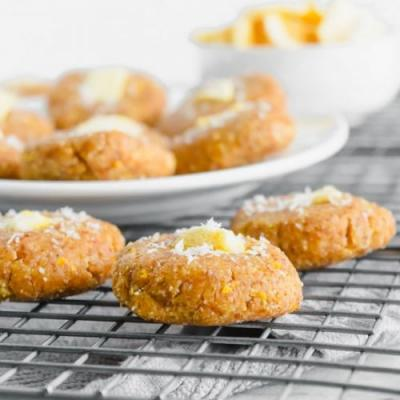 No Bake Mango Coconut Cookie Bites