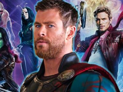 Guardians of the Galaxy 3 Fan Poster: Thor Joins The Team