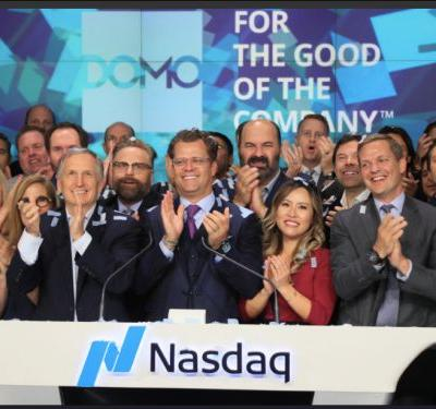 A tale of two companies: Domo's stock skyrocketed 21%, while Cloudera's stock dropped almost 20%. Here's why Wall Street is paying close attention to both