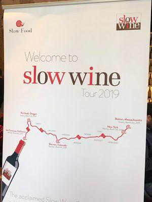 Slow Wine Guide Tasting: Italy, California & Oregon