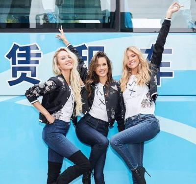 33 photos that show how the Victoria's Secret Angels traveled to Shanghai in style