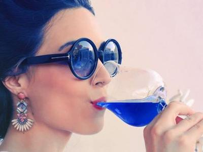 Blue Wine Not a Gag: Apparently, Americans Love It