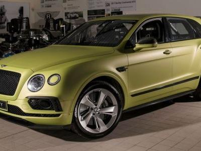 Bentley Is Going Racing At Pikes Peak. With The Bentayga SUV