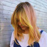 Bring Pink Lemonade to the Barbecue With This Cool New Hair Color