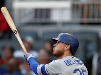 Bellinger hits 41st homer, Dodgers beat Braves 8-3