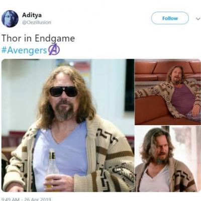 The 10 Best Reactions The Internet Had To Overweight Thor