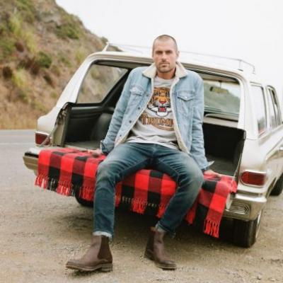Zac Taylor Travels to Northern California for Lucky Brand Holiday '18 Campaign