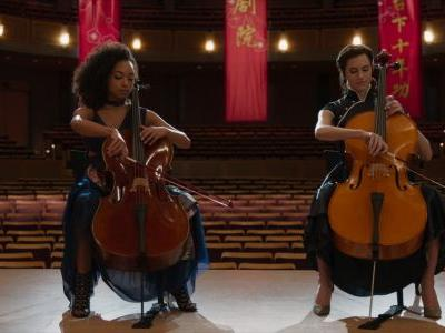 Whoa - Allison Williams and Logan Browning Actually Learned to Play the Cello For The Perfection