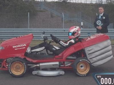 The World's Fastest Lawnmower Can Get to 100 MPH Faster Than a McLaren F1