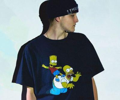 YSTRDY'S TMRRW Drops Collaborative 'The Simpsons' T-Shirts