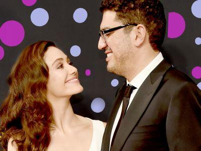 Emmy Rossum Is Married, After A Two-Year Engagement, To The Creator Of Mr. Robot