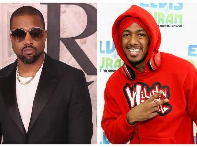 Kanye West Slams Nick Cannon For Fueling Rumors That Kim Kardashian Hooked Up With Drake - Watch!