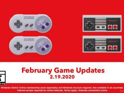 NES And SNES Switch Online Adding New Games February 19
