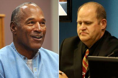 One of O.J.'s parole board commissioner's wore an NFL tie