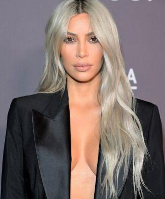 Kim Kardashian's New Blue-Black Hair Is So Subtle, You Might've Missed It