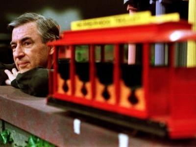 Mister Rogers was America's teacher. I know because he taught me English