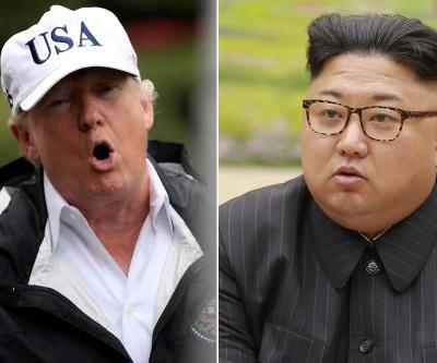 Trump calls Kim Jong Un 'Rocket Man,' says sanctions working