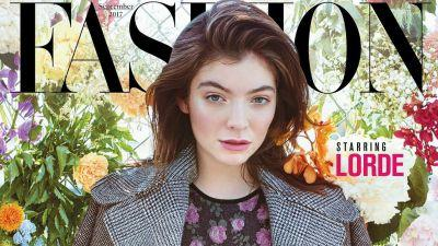 Must Read: Lorde Graces the September Cover of Canada's 'Fashion' Magazine, Rihanna Brings Bikes to Children in Malawi